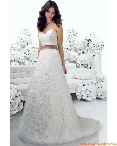 Robe de mariée originale noir et blanche