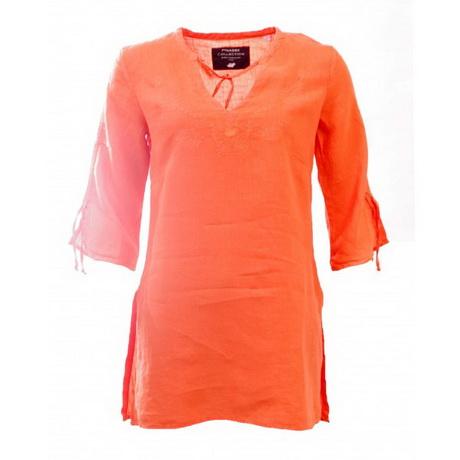 tunique orange femme. Black Bedroom Furniture Sets. Home Design Ideas