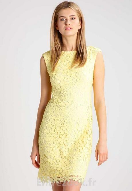 Robe couleur jaune for Ligne de robe de mariage lauren conrad