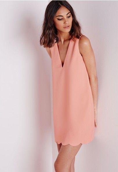 robe de cocktail rose pastel. Black Bedroom Furniture Sets. Home Design Ideas