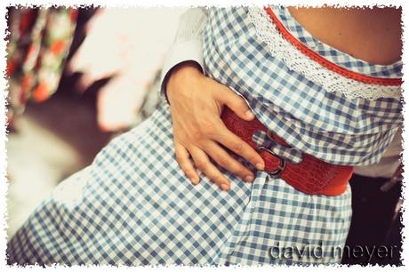 Robe pour soir e guinguette - Style guinguette femme ...