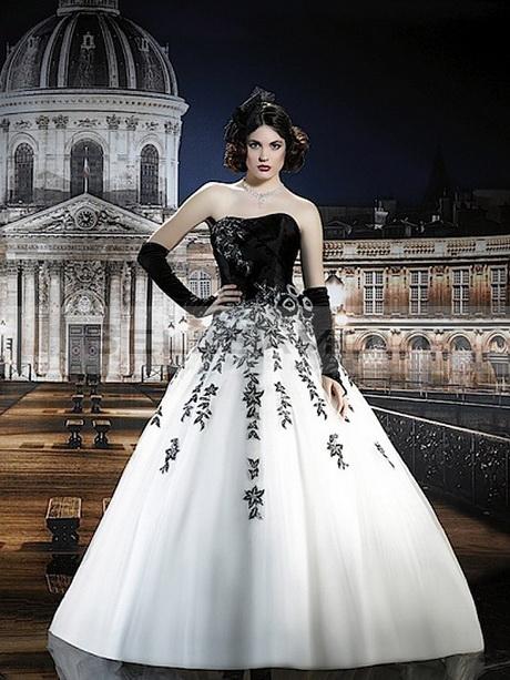 robe de marier noir