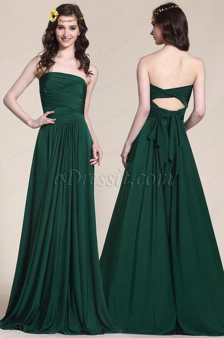 Robe Vert Fonce