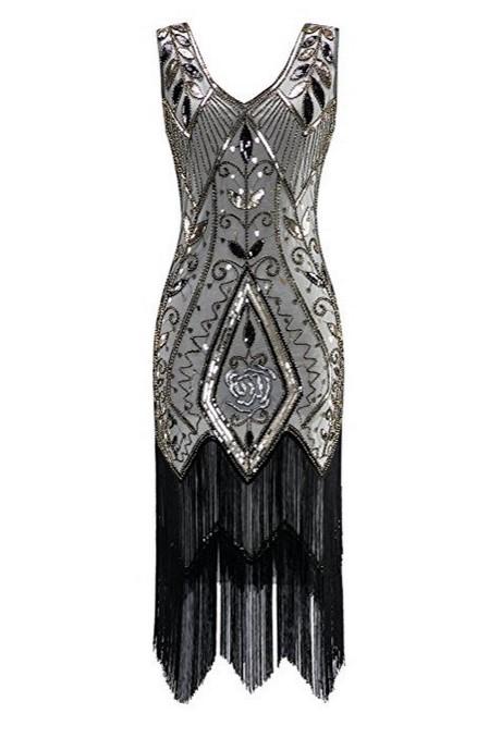 robe de soiree annee 20 30. Black Bedroom Furniture Sets. Home Design Ideas