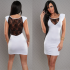 Robe blanche fashion