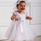 Robe ceremonie bapteme fille