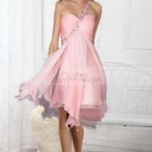 Robe ceremonie rose