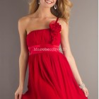 Robe ceremonie rouge