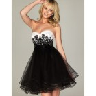 Robe cocktail bustier