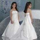 Robe communion fille