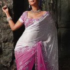 Robe de soiree indienne
