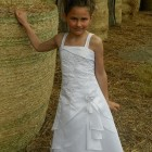 Robe fille communion
