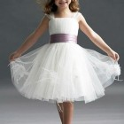 Robe fille tulle