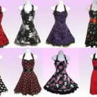 Robe rockabilly vintage