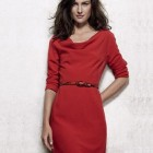 Robe rouge hiver