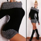 Robe tricot femme