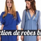 Robes bleues