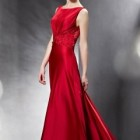 Robe fiancaille rouge