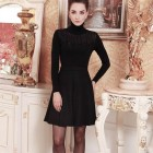 Robe manche longue femme
