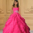 Robe rose de princesse