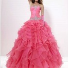 Robe rose princesse