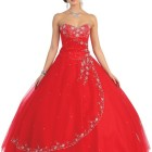 Robe rouge de princesse
