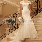 Robe blanche mariage simple