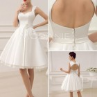 Robe de mariage civil simple