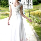 Robe longue blanche pour mariage