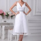 Robe mariage civil simple