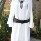 Robe tunique en lin