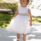 Robe ceremonie fille bebe