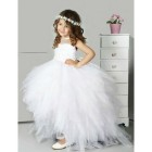 Robe ceremonie tulle fille