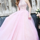 Robe de bal graduation
