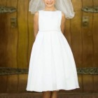 Robe de premiere communion fille