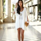 Robe fashion blanche