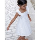Robe fille blanche communion