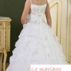 Robe mariee fillette