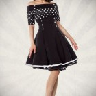 Robe retro pin up