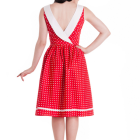 Robe rockabilly rouge