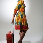 Model couture pagne africain
