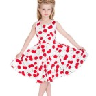 Robe enfant rockabilly