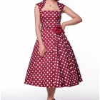 Robe longue rockabilly