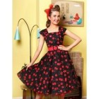 Robe pin up cerise