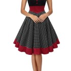 Robe pin up pois