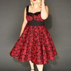 Robe pin up ronde
