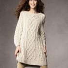 Robe maille hiver