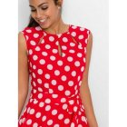 Robe rouge a pois blanc pas chere