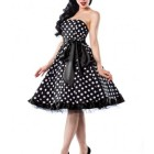 Robe bustier retro