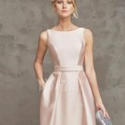 Robe ceremonie rose pastel